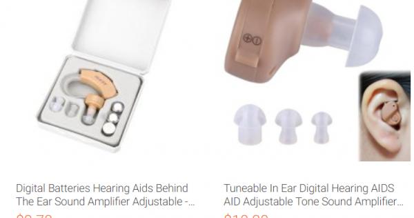 hearing aids online suck