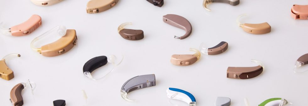 various hearing aids