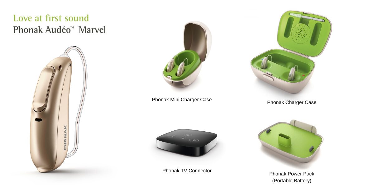Phonak Marvel Rechargeable Ad