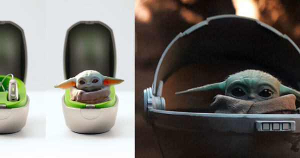 phonak mini charge case looks like baby yoda