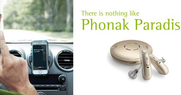 phonak paradise hearing aids are discreet